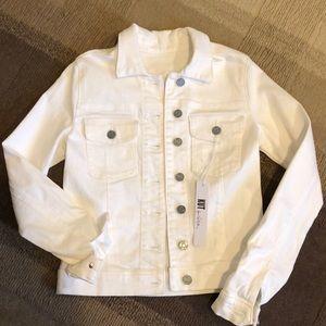 NWT Kut from the Kloth White Denim Jacket size XS